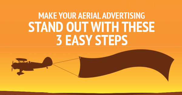 aerial advertising options